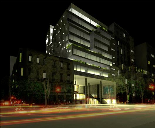 Propuesta Primer Lugar. Image Cortesia de Sociedad Central de Arquitectos