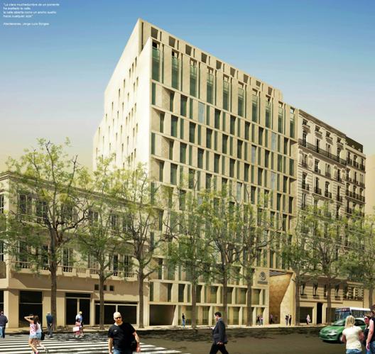Propuesta Segundo Lugar. Image Cortesia de Sociedad Central de Arquitectos