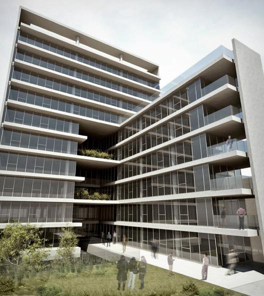 Propuesta Tercer Lugar. Image Cortesia de Sociedad Central de Arquitectos