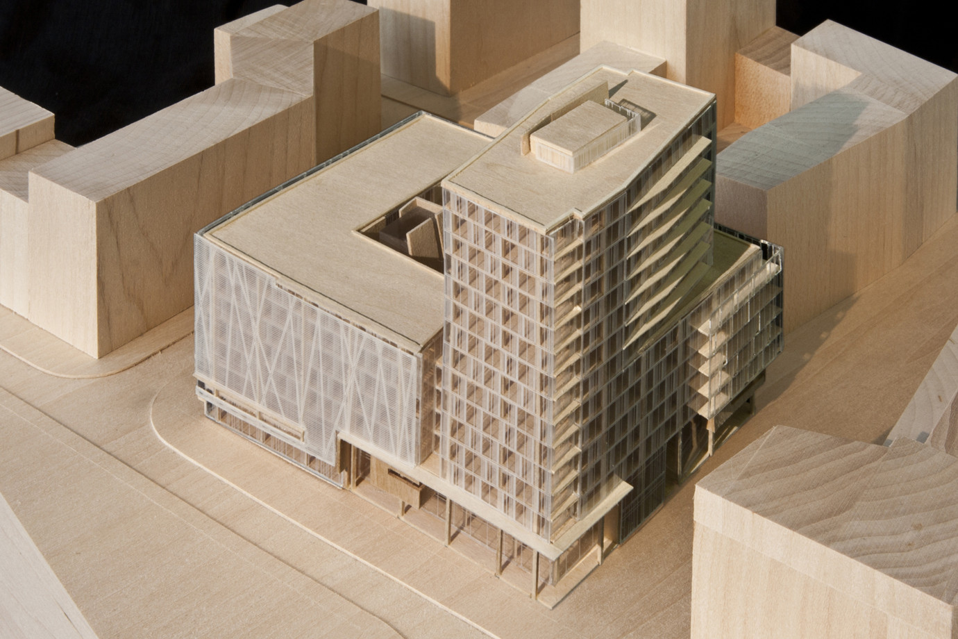 gallery of engel v lkers new headquarters richard meier partners 3. Black Bedroom Furniture Sets. Home Design Ideas