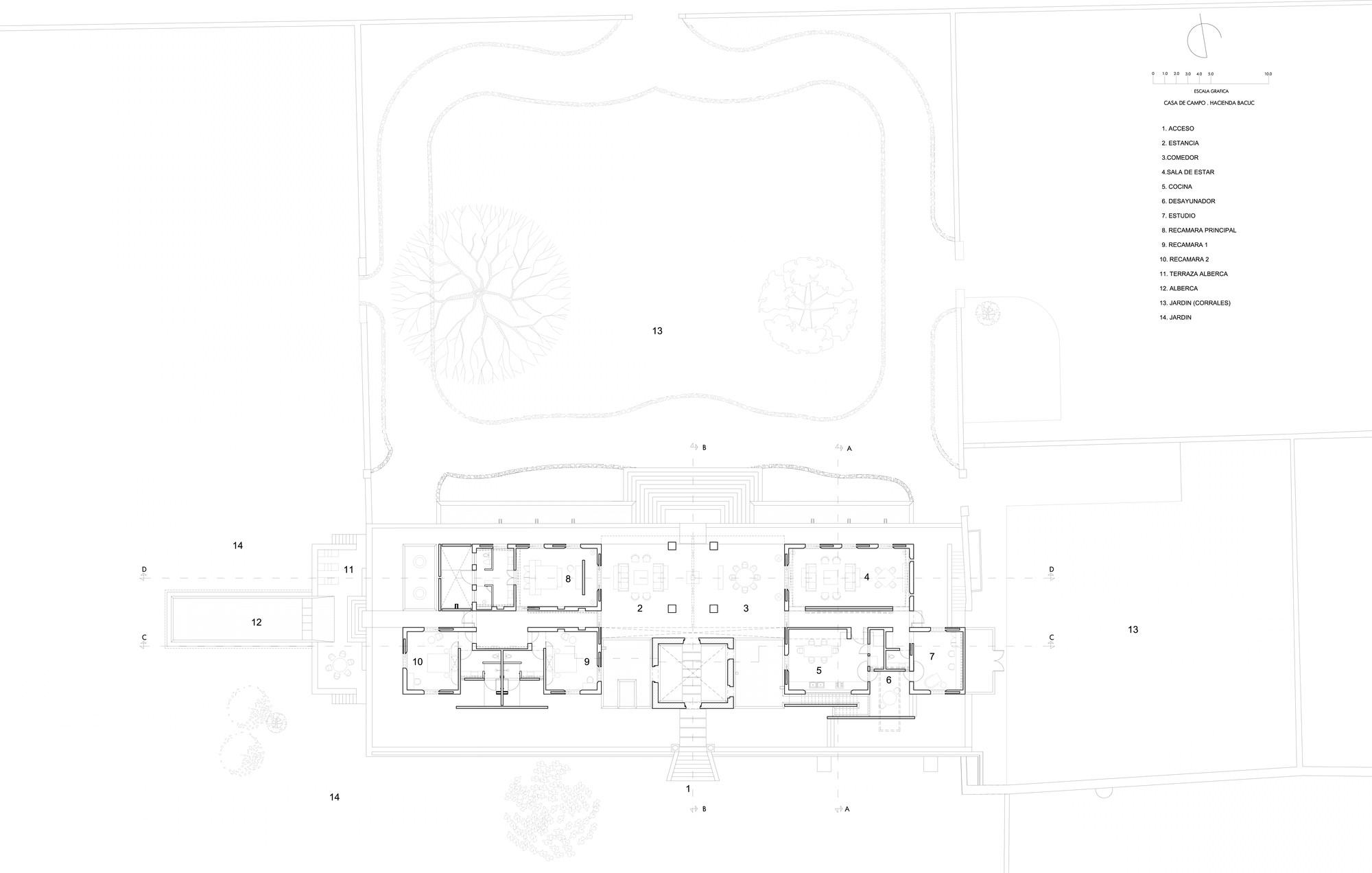Hacienda Bacoc / Reyes Ríos + Larraín Arquitectos