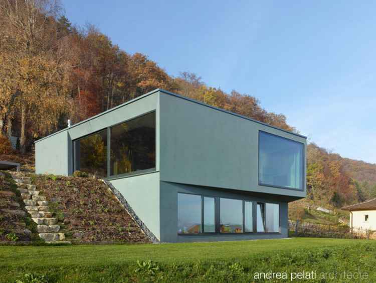 Villa Clottu / Andrea Pelati Architecte, © Thomas Jantscher
