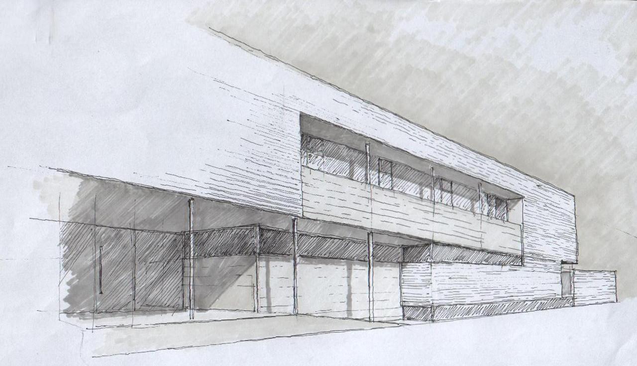 Aulario De Cobeña / GEA Arquitectos