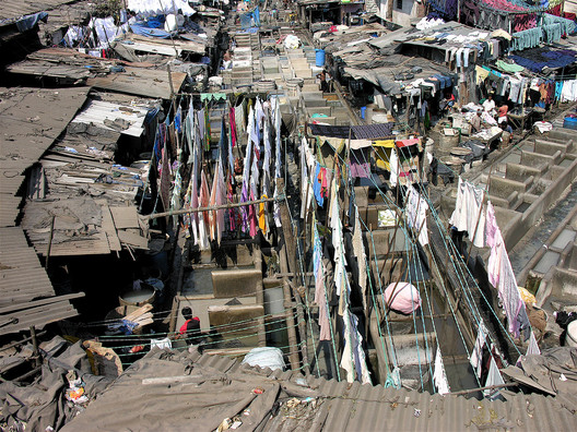 Dhobi Ghat, Mumbai, India; Courtesy of Flickr User Laertes; Licensed via <a href='https://creativecommons.org/licenses/by-sa/2.0/'>Creative Commons</a>