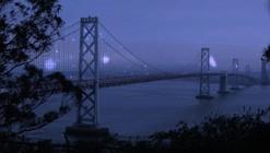 Luces en la bahía de San Francisco