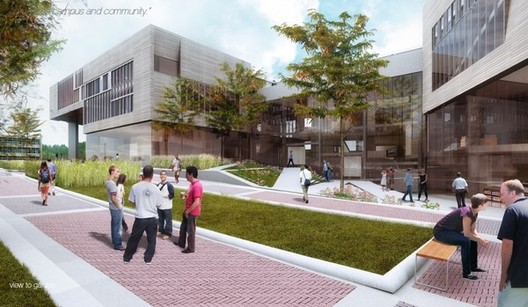 Westlake Reed Leskosky proposal; Courtesy Kent State University
