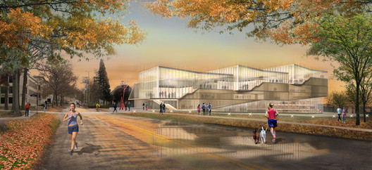 Richard L. Bowen + Associates Inc. proposal; Courtesy Kent State University