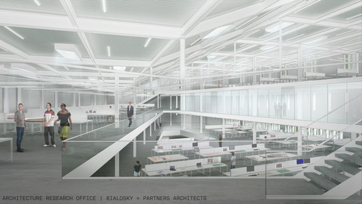 Bialosky + Partners Architects proposal; Courtesy Kent State University