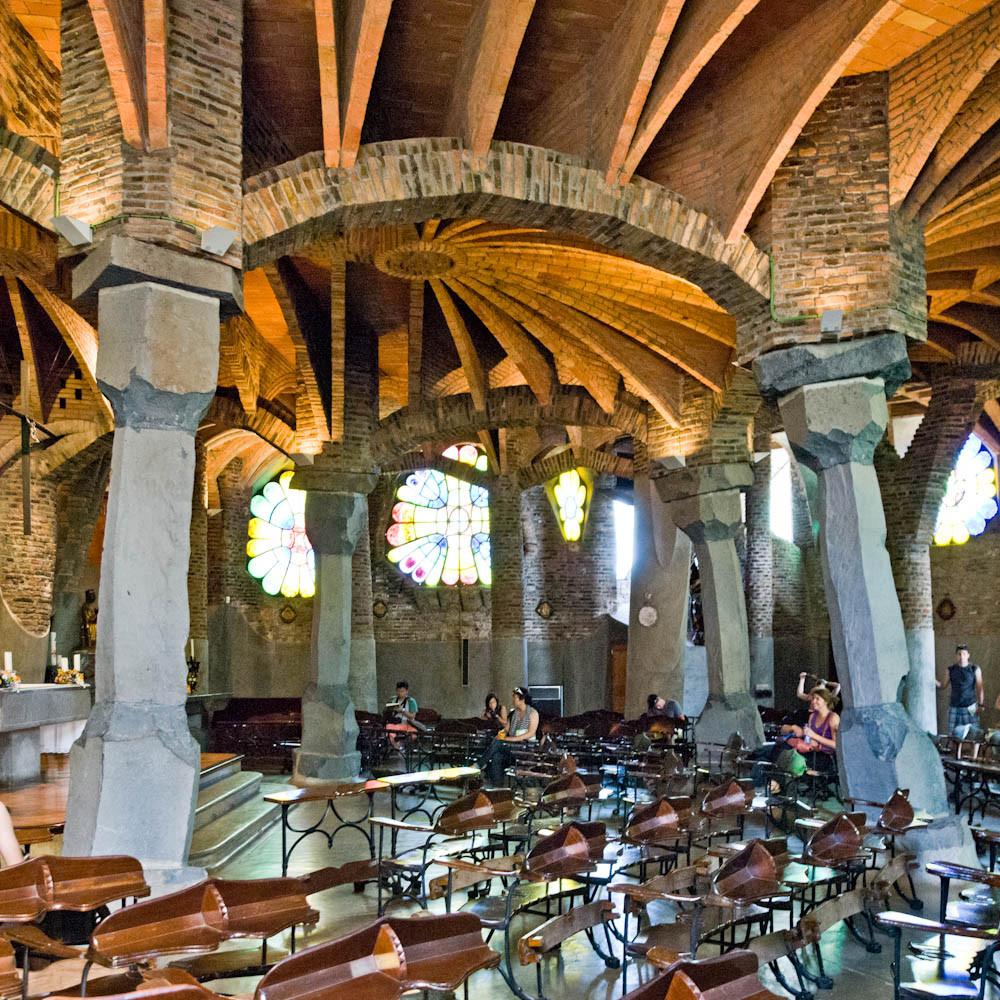 Clásicos de Arquitectura: Colònia Güell / Antoni Gaudí, Courtesy of Samuel Ludwig