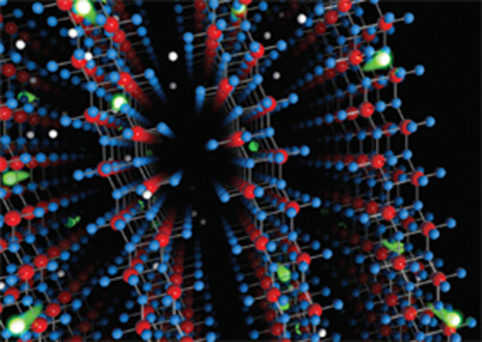 © High carrier mobility through layered molybdenum oxide crystal lattice, via www.rmit.edu.au