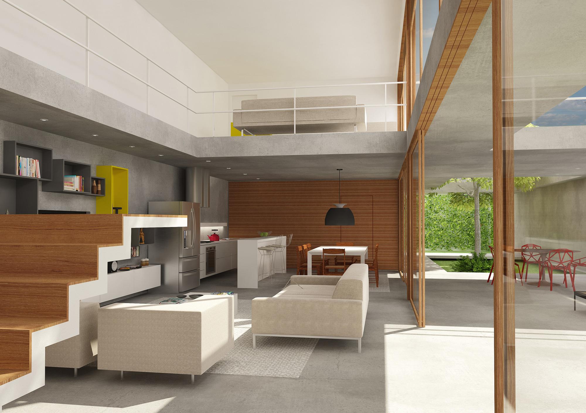 Galeria casa 10x38 cr2 arquitetura 3 for Dormitorio 2 50 x 2 50