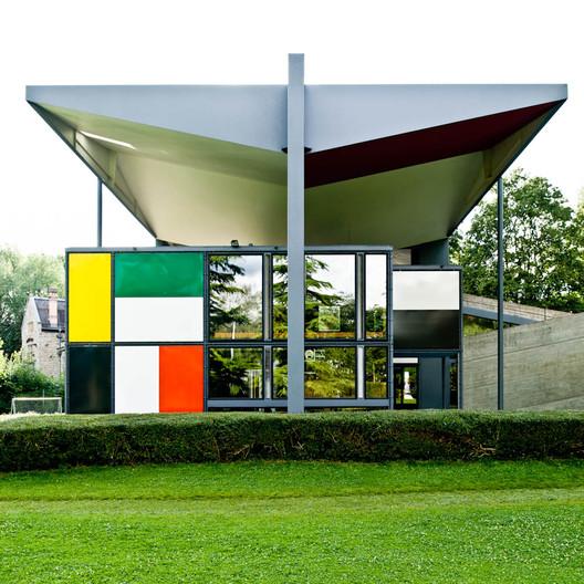 ad classics centre le corbusier heidi weber museum le corbusier archdaily. Black Bedroom Furniture Sets. Home Design Ideas