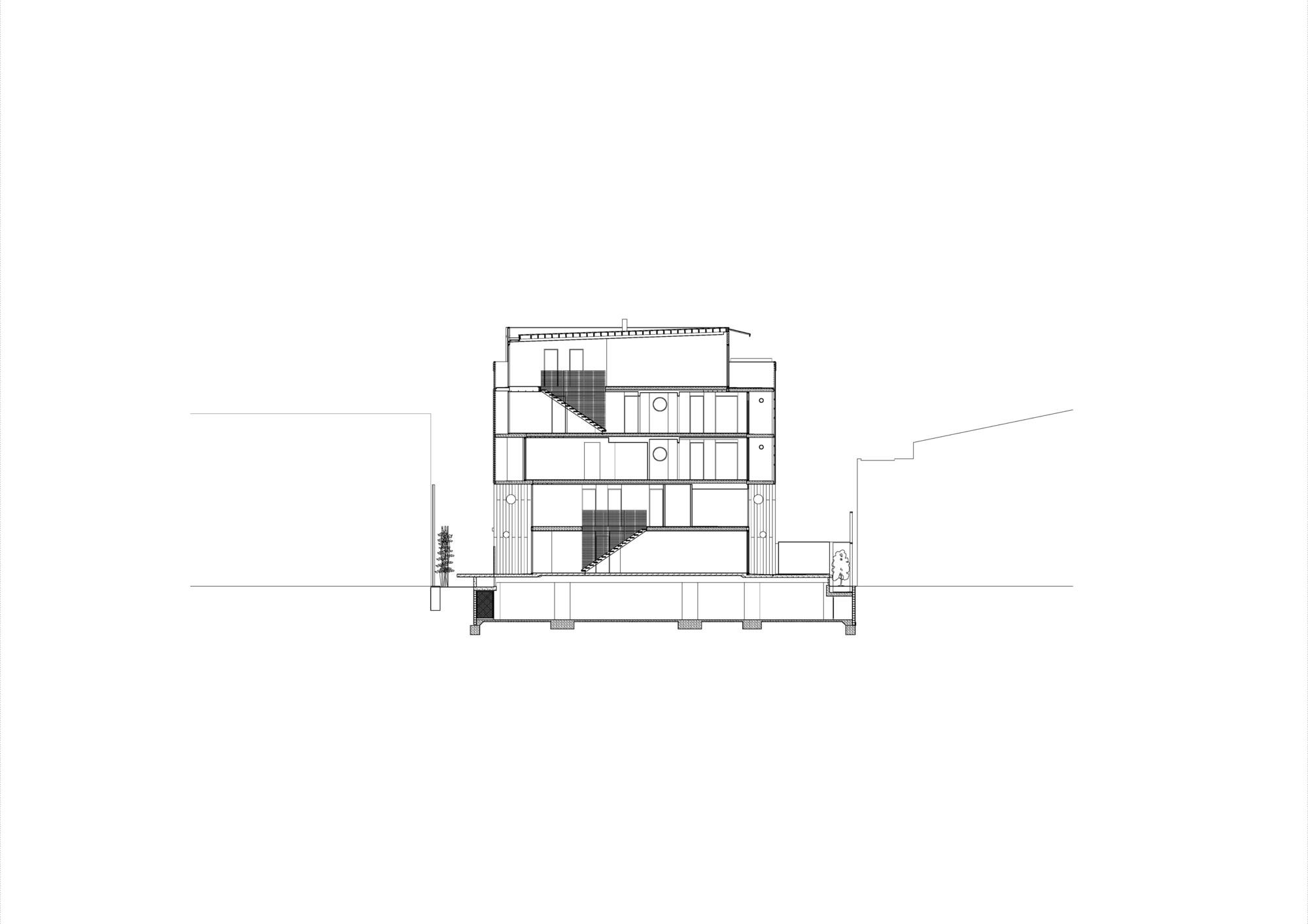 Hue Apartments / Jackson Clements Burrows Architects