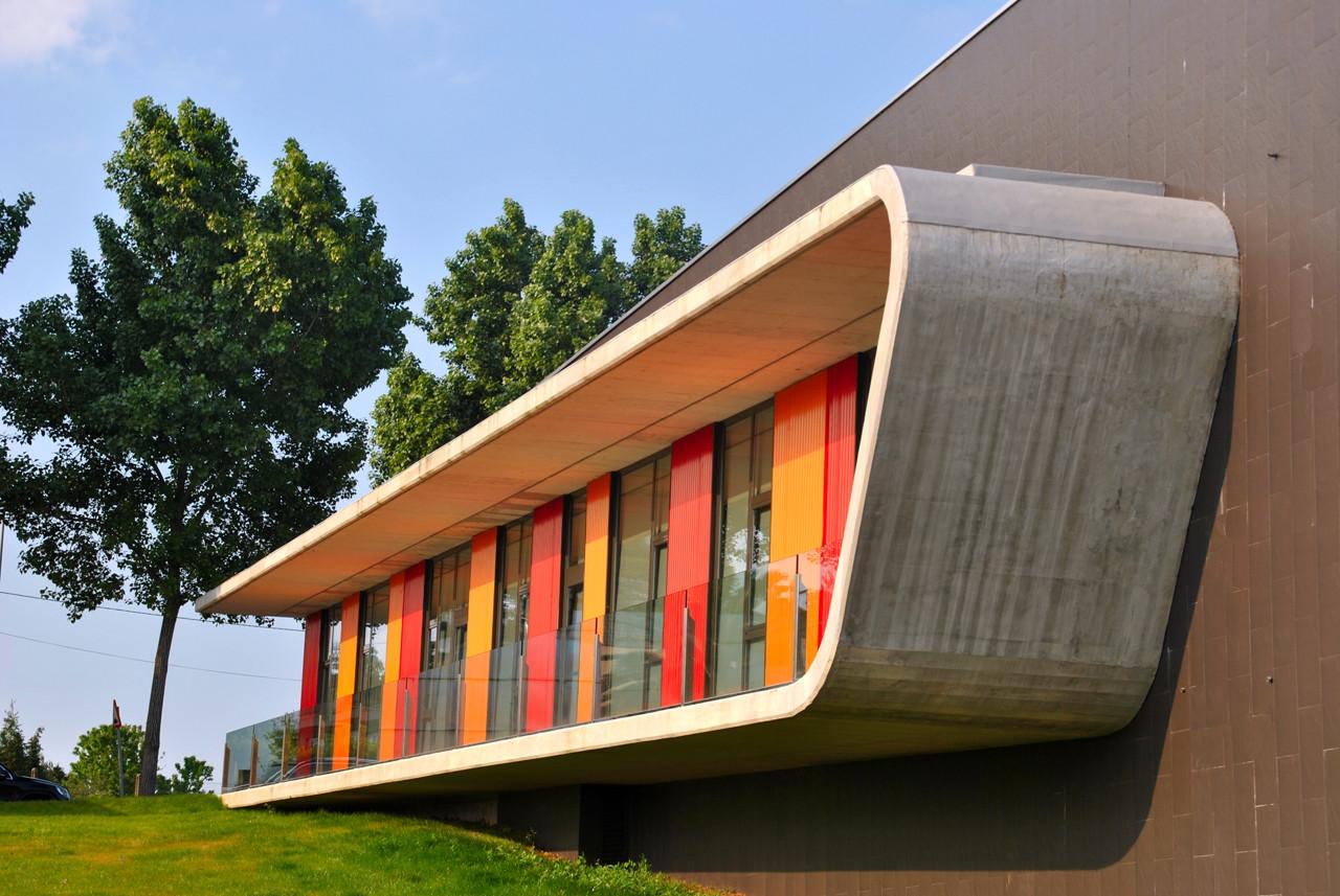 Gallery of dance school in oleiros naos arquitectura 7 - Estudios arquitectura coruna ...
