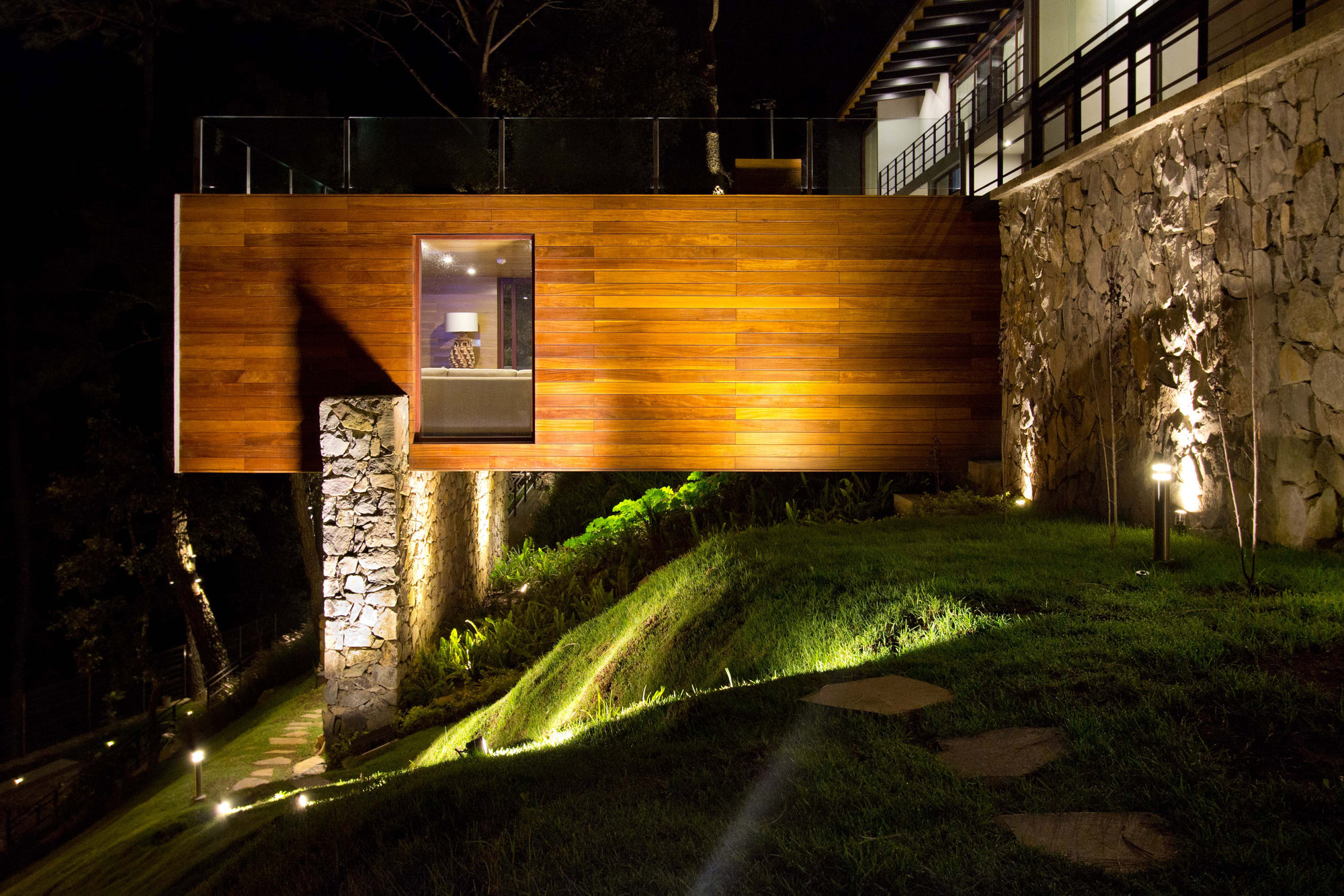 Gallery of the forest house espacio ema 5 for Forest house
