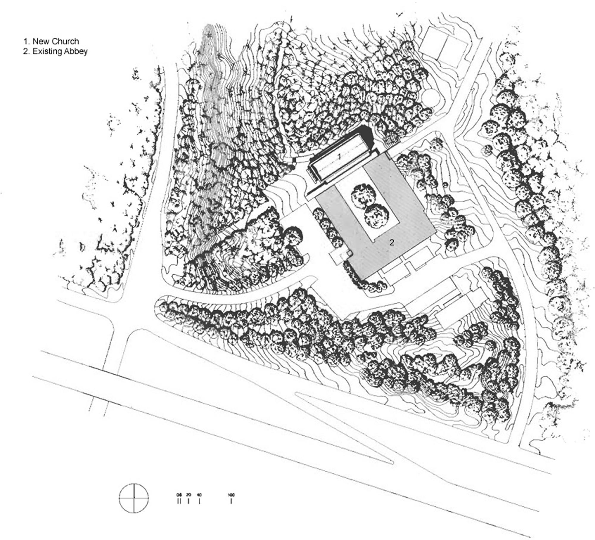 Cistercian Abbey Church / Cunningham Architects