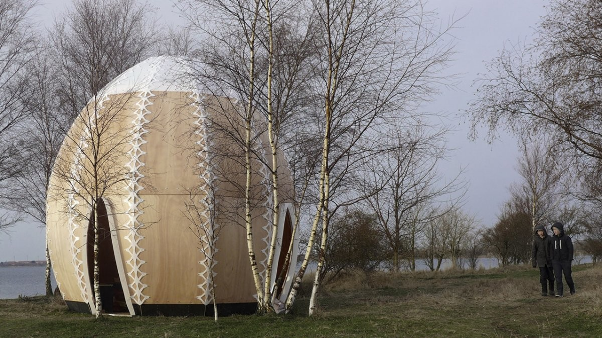 Refugio de Protección / SHJWorks, © Simon Hjermind Jensen