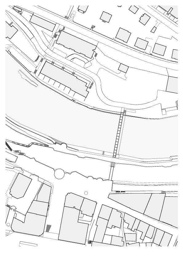 Limmat Footbridge and Promenade Lift  / Leuppi & Schafroth Architekten