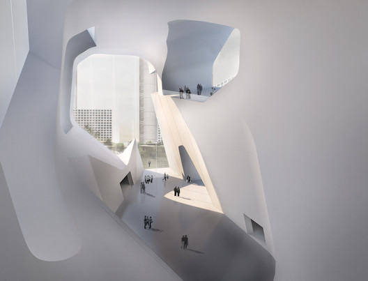 Cortesia de Steven Holl Architects
