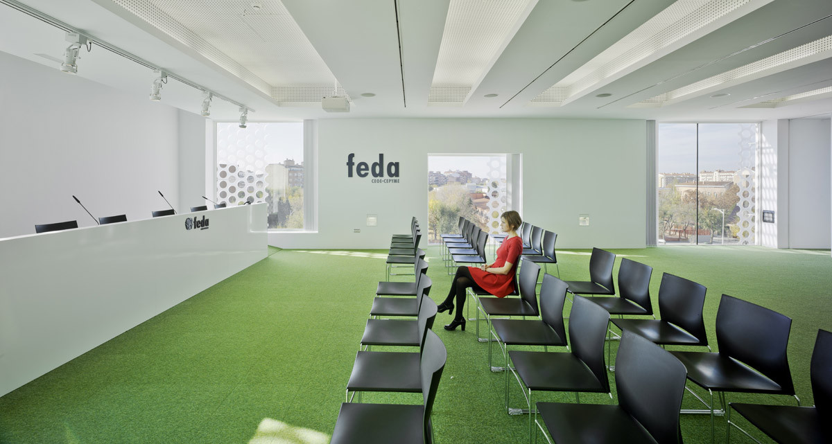 Central Office of FEDA Confederation of Employers of Albacete / Cor & Asociados