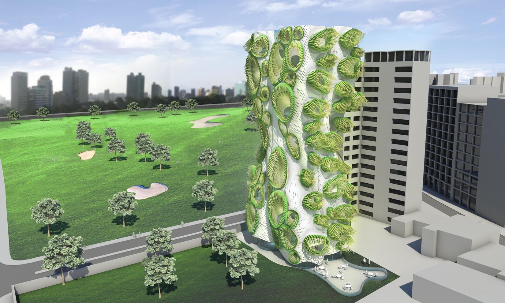 B+U's Housing Tower Rethinks Window DNA