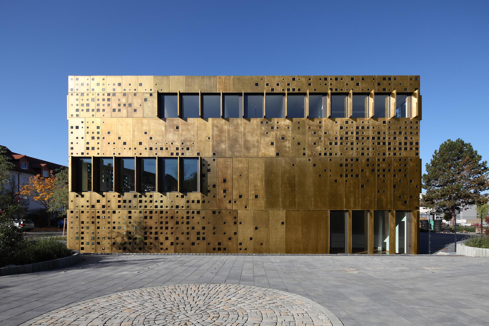 Fraunhofer-Institut TZA / JSWD Architekten, © Felix Krumbholz
