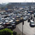Kala Nagar Traffic Junction currently; Image Courtesy of BMW Guggenheim Lab