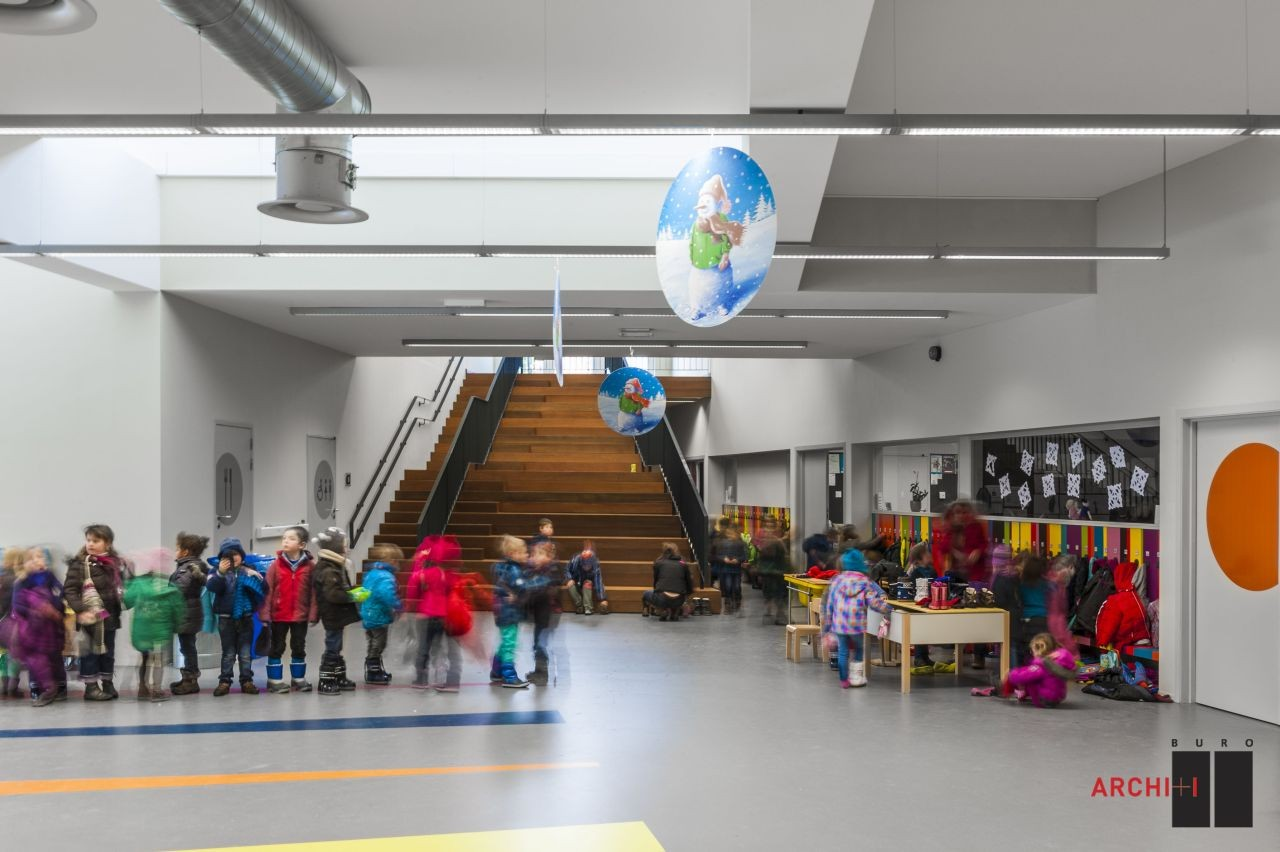 Passive kindergarten Oostduinkerke / BURO II + ARCHI+I