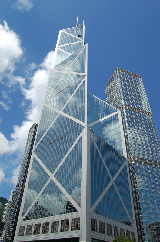 Ad classics bank of china tower i m pei archdaily for Ad architects