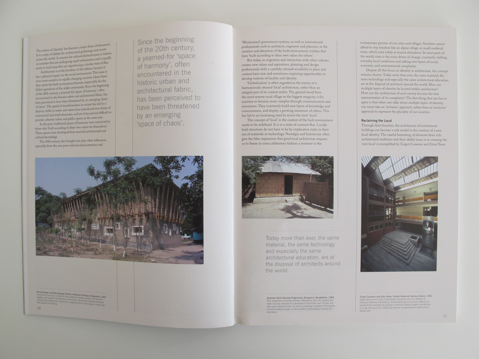 Architectural Design: Human Experience and Place - Sustaining Identity