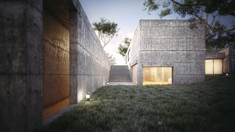 Ad Classics Koshino House Tadao Ando Architect