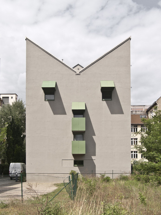 Ad Classics The Kreuzberg Tower John Hejduk Archdaily