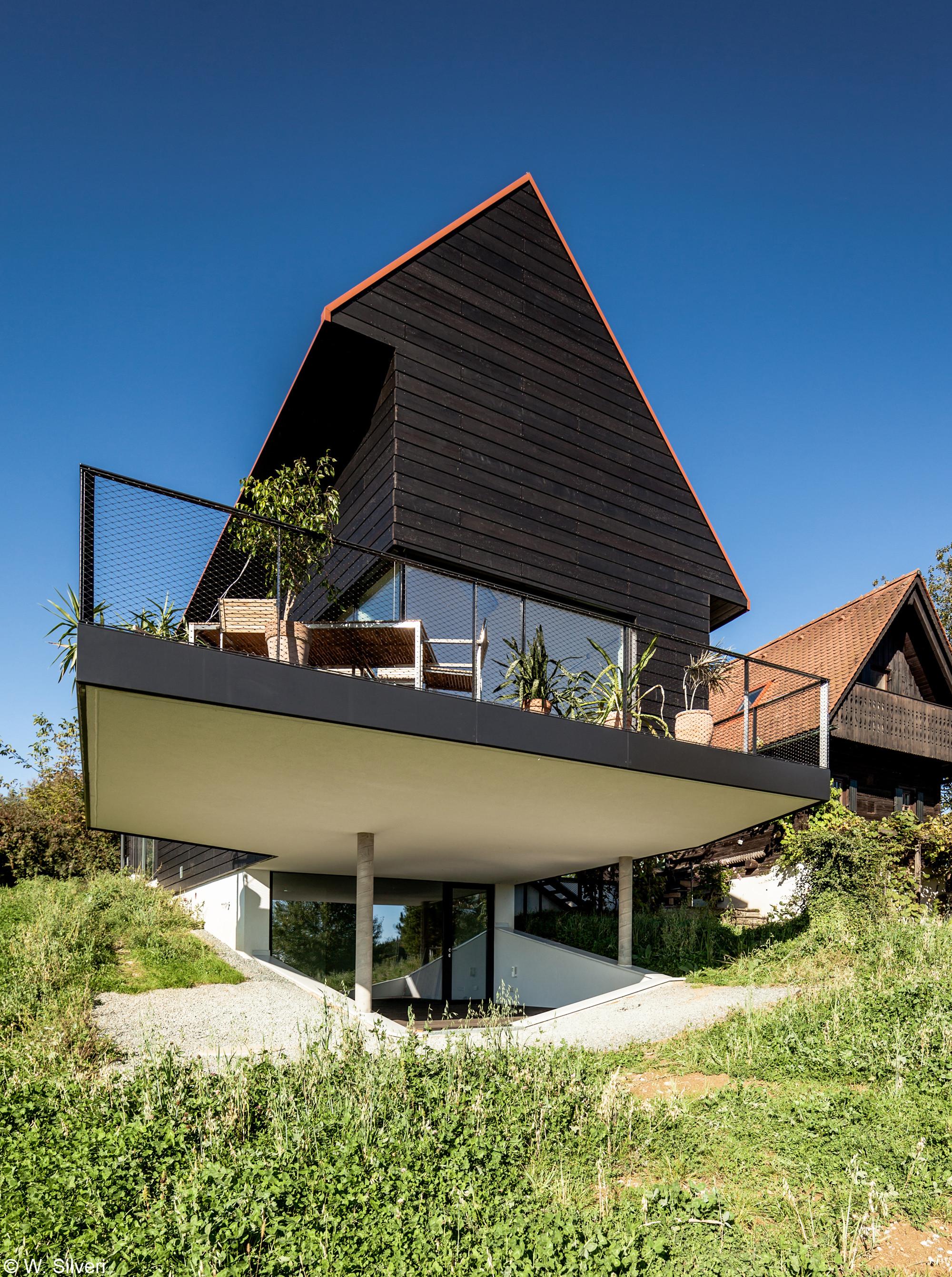 Gallery of haus am steinberg hog architektur 16 for Haus architektur