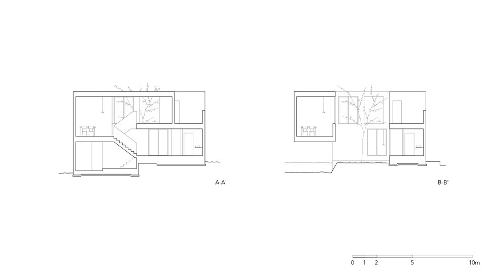 House that Opens up to its Inside / Florian Busch Architects