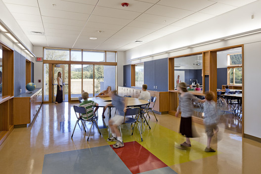 Consider scale when configuring shared living quarters. Project Name: Thurston Elementary School in Springfield School District. Photo by Lincoln Barbour