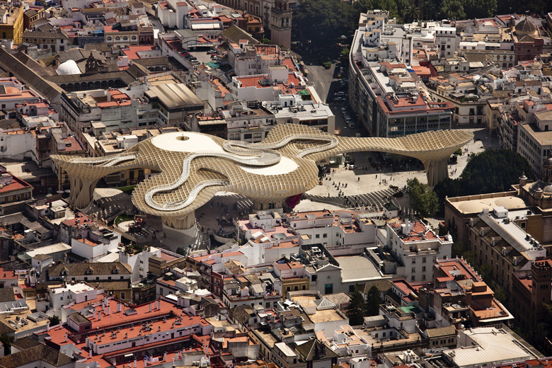 Metropol Parasol / J. Mayer H + Arup. Courtesy of J. Mayer H.