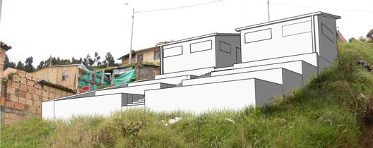 Green Terraces. Courtesy of AECOM