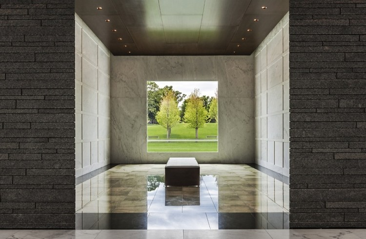 Lakewood cemetery garden mausoleum hga architects and Mausoleum design