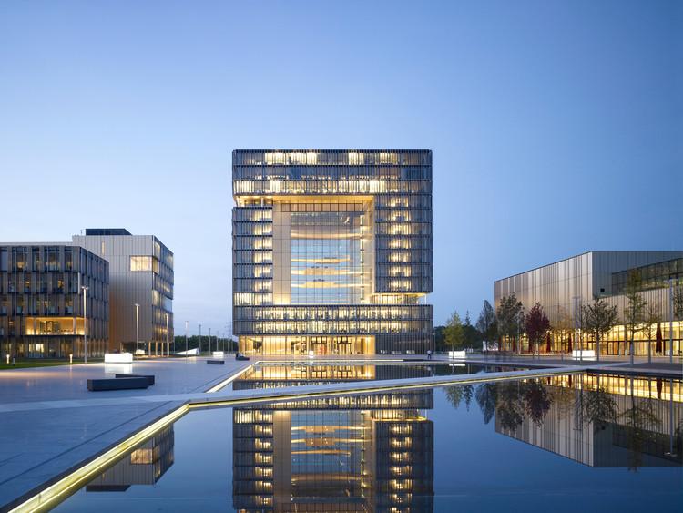 Q1, ThyssenKrupp Quarter Essen / JSWD Architekten + Chaix & Morel et Associés, © Christian Richters