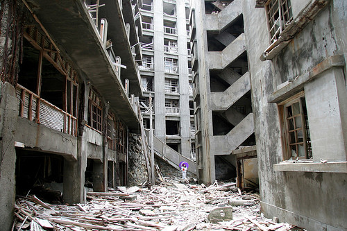 Hashima Island © Flickr User CC filmmaker in Japan