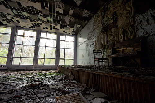 Hospital in Pripyat. © Flickr User CC abandonia