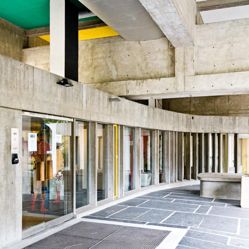 Gallery of ad classics maison du bresil le corbusier 3 - Maison du bresil paris ...