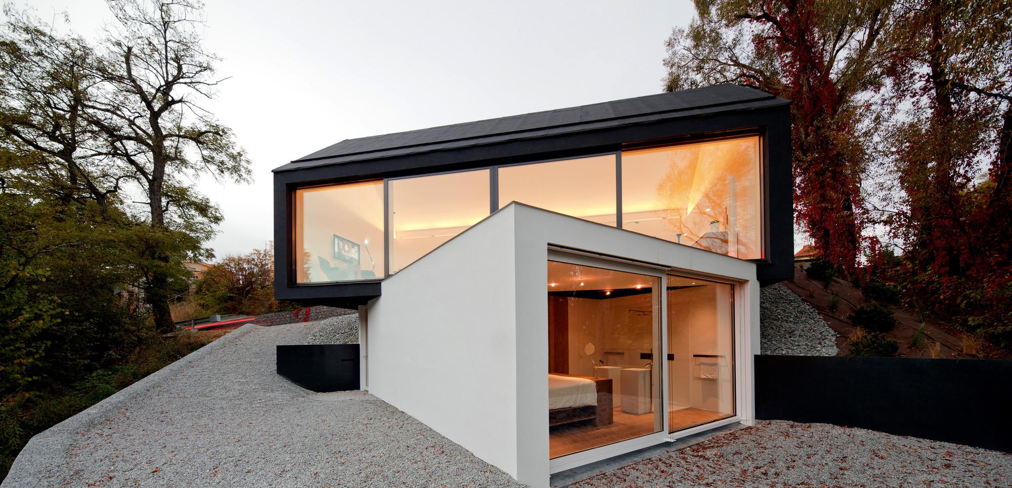 studio house fabi architekten bda archdaily. Black Bedroom Furniture Sets. Home Design Ideas