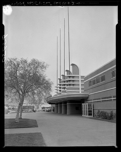 Pan-Pacific Auditorium, 1956. Courtesy of Wikipedia Commons User Tillman