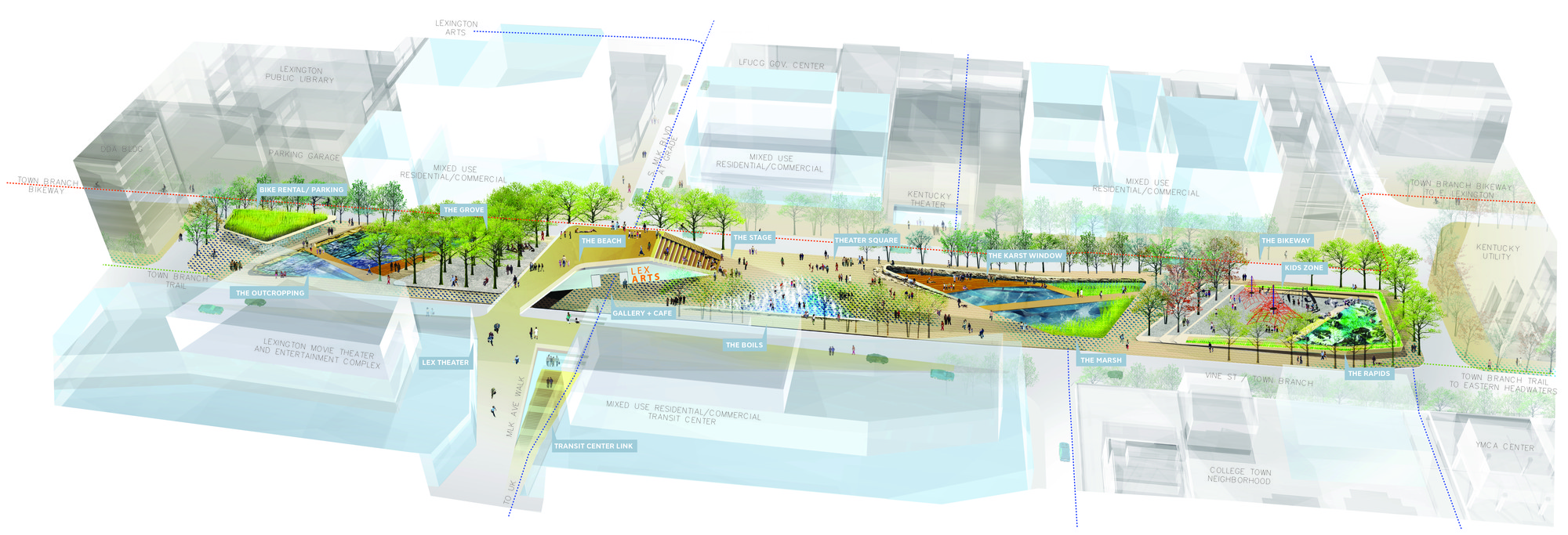 Gallery of scape landscape architecture wins competition for Landscape design contest