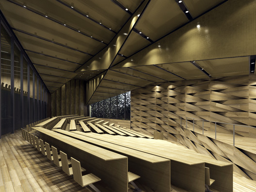 Courtesy of Kengo Kuma & Associates