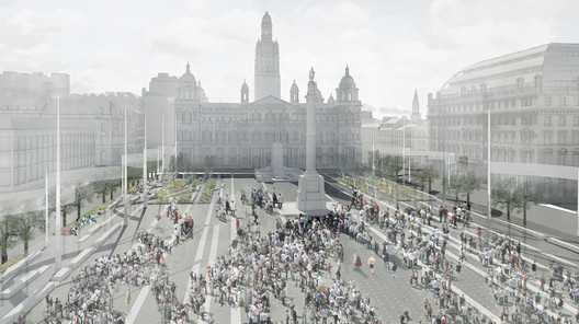 George Square Competition Entry / John McAslan + Partners
