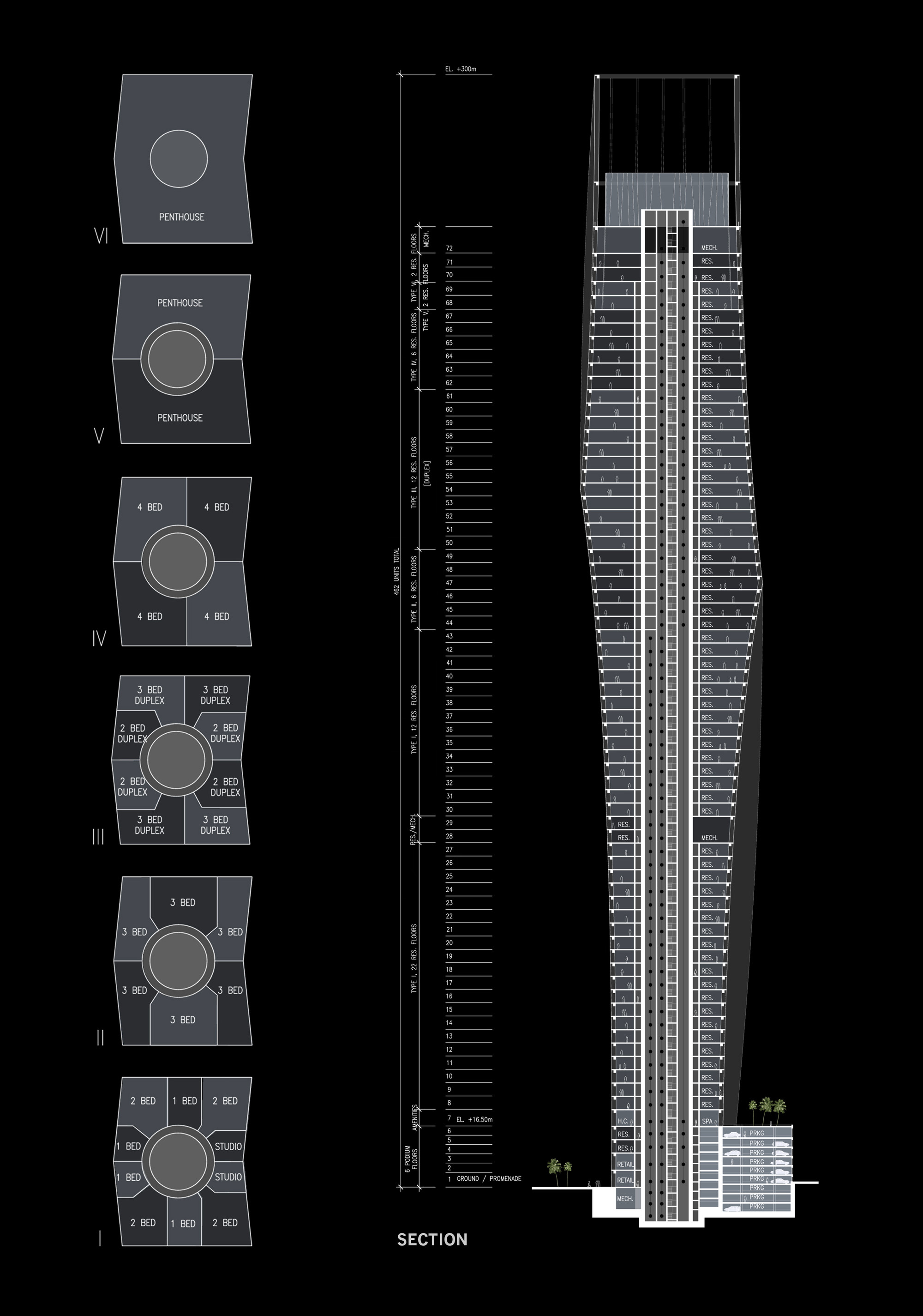 In Progress: Infinity Tower / SOM
