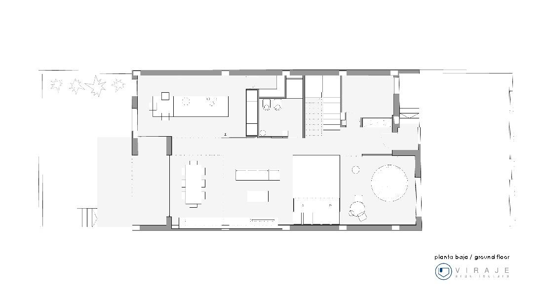 Interior Light-Single Family Housing / Viraje architecture