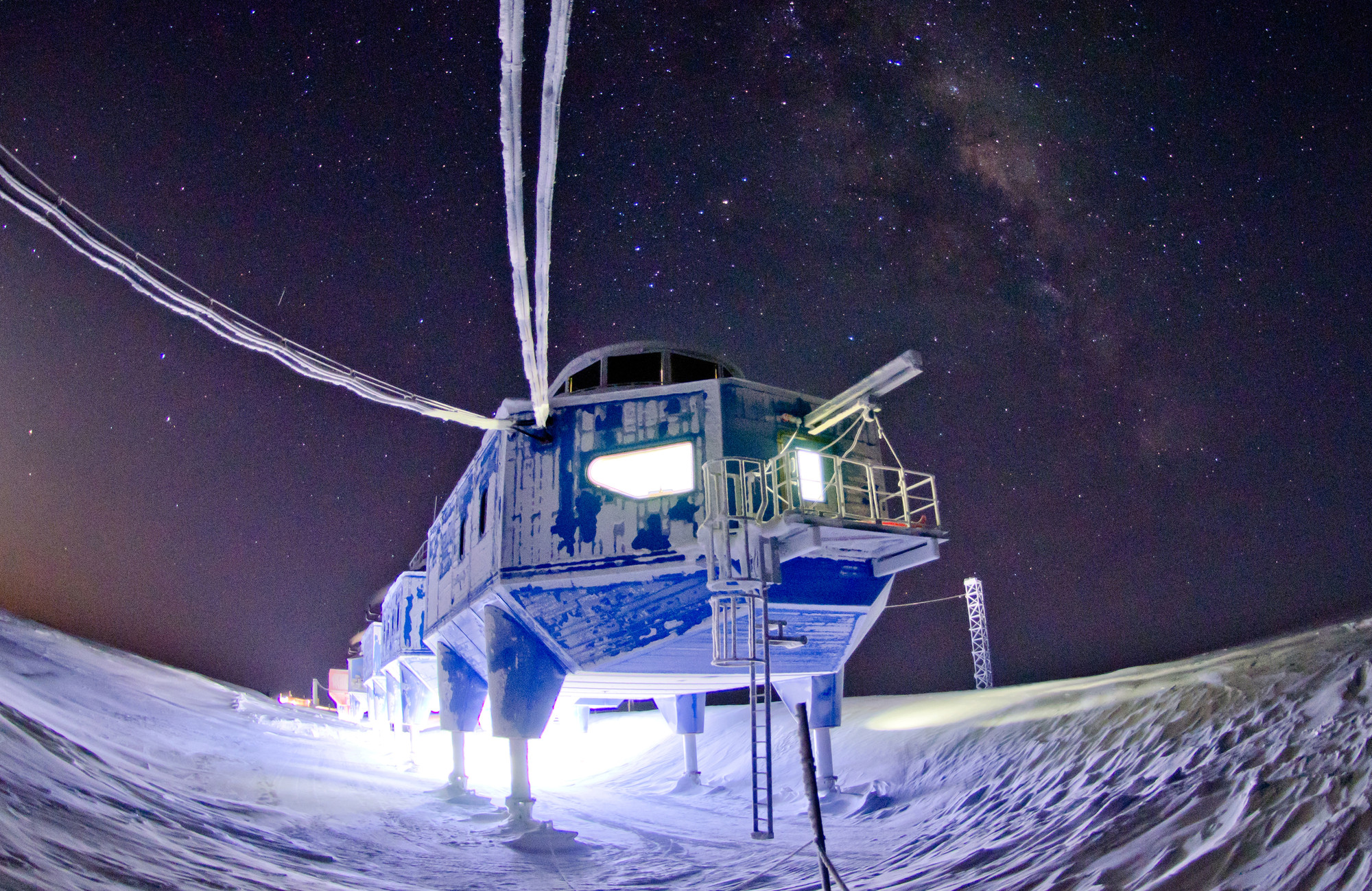 The World's First Relocatable Research Center Opens in Antarctica
